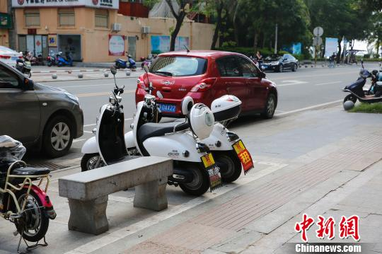 三亚共享电动单车限期清理