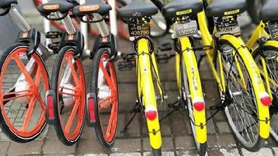 全國多地共用單車陸續減少