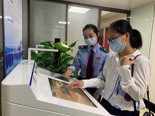 房産交易辦稅免接觸 上海虹口稅務設立房産交易智慧辦稅專區